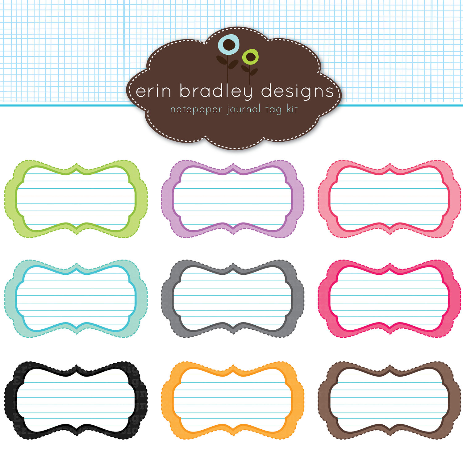 Digital Scrapbooking Tags - ClipArt Best