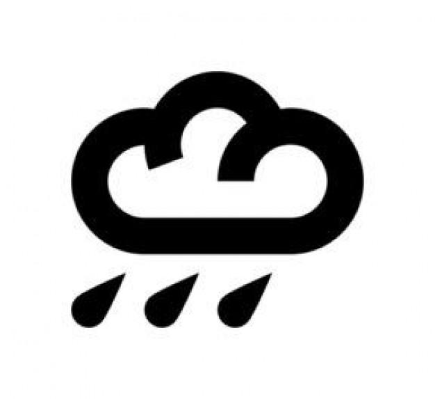 rain cloud symbol clipart best