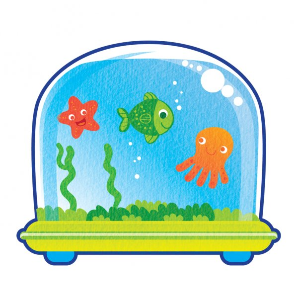Cartoon Fish Tank - ClipArt Best