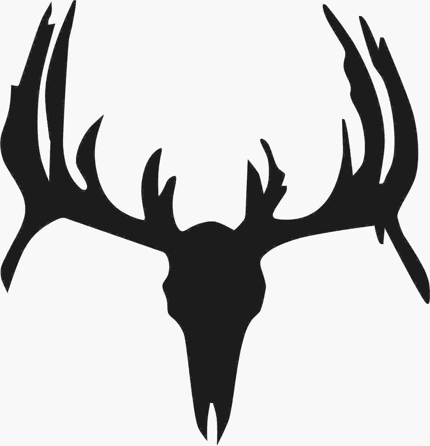 Deer silhouette wall decal highest quality photos