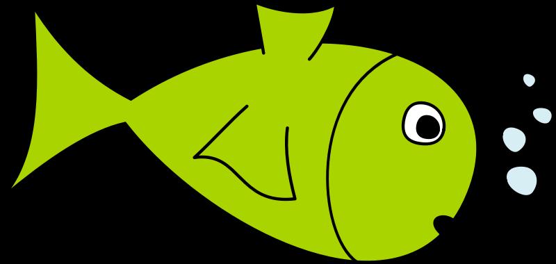 Green Cartoon Fish - ClipArt Best