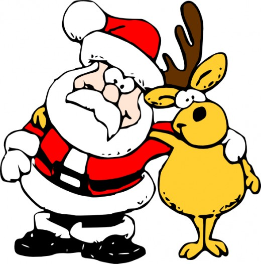 Funny Christmas Pictures Clip Art - ClipArt Best