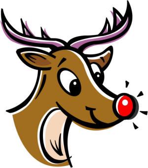 Clipart Of Rudolph - ClipArt Best - 20.4KB