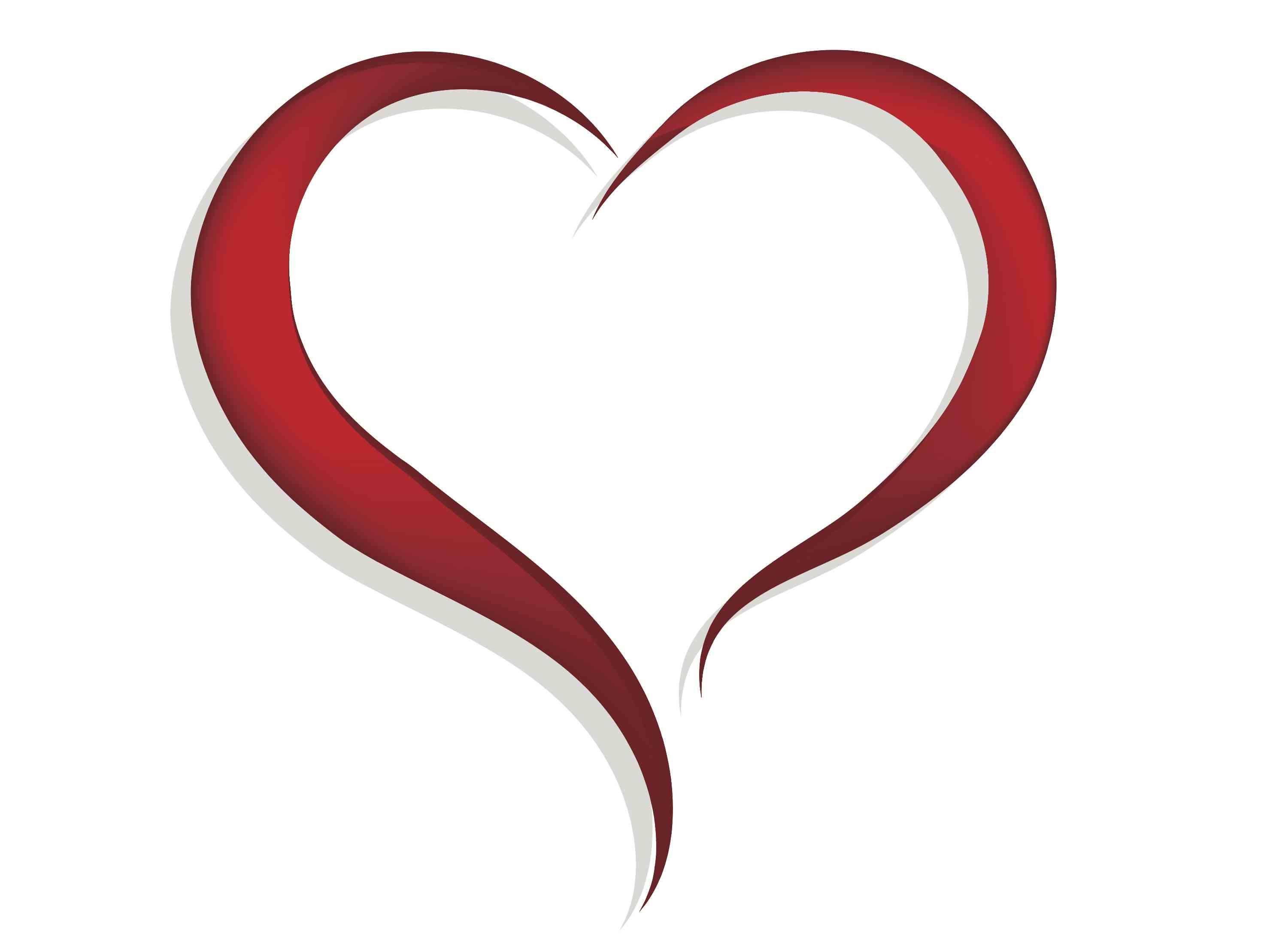 Fancy Heart Clip Art - ClipArt Best