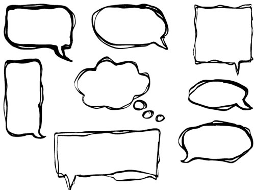 how to add a speech bubble to photoshop