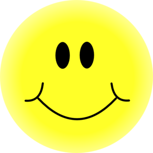 Yellow smiley face clip art at vector clip art image #20039