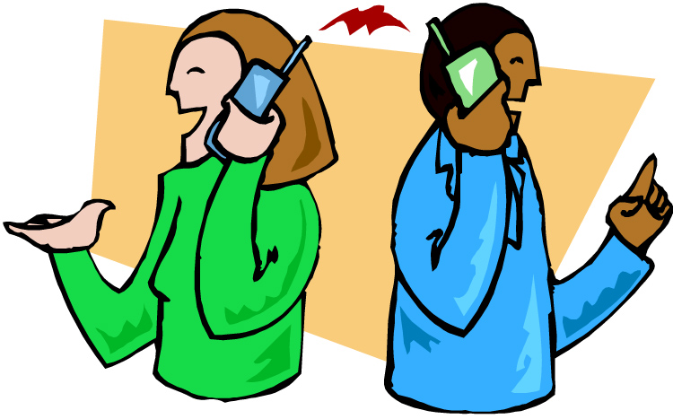 People Talking The Phone Cartoon - ClipArt Best - ClipArt Best