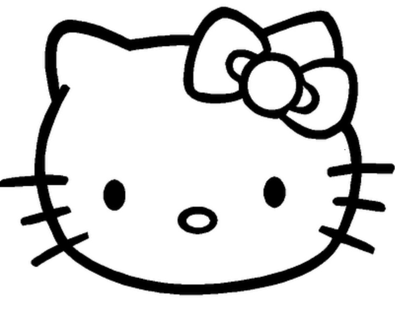 printable cat face coloring pages - photo#27
