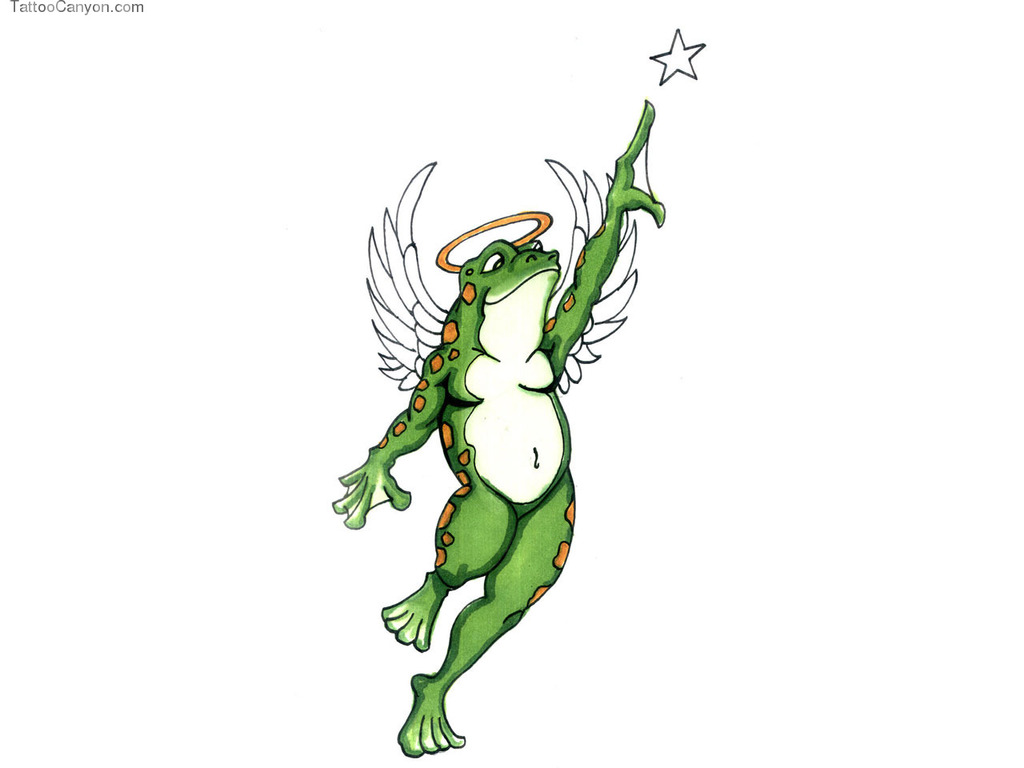free designs angel frog tattoo wallpaper picture clipart best clipart best. Black Bedroom Furniture Sets. Home Design Ideas