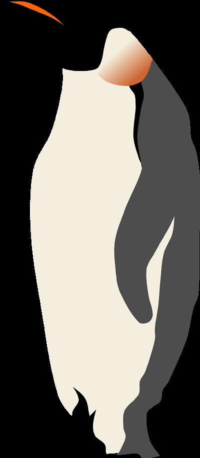 gentoo penguin clip art