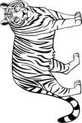 wild cat coloring pages - photo#26