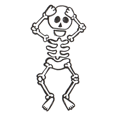 Cartoon Skeleton Images - ClipArt Best