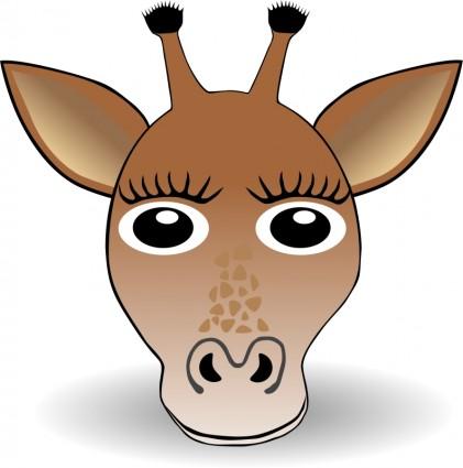Cartoon Giraffe Clipart Free