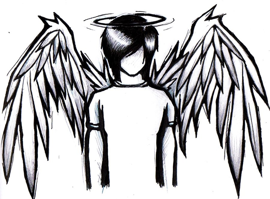 Emo Drawings Clipart Best