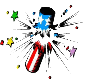 Free Fireworks Clipart. Free Clipart Images, Graphics, Animated ...