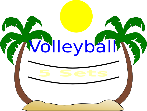 Beach Volleyball Clip Art - ClipArt Best