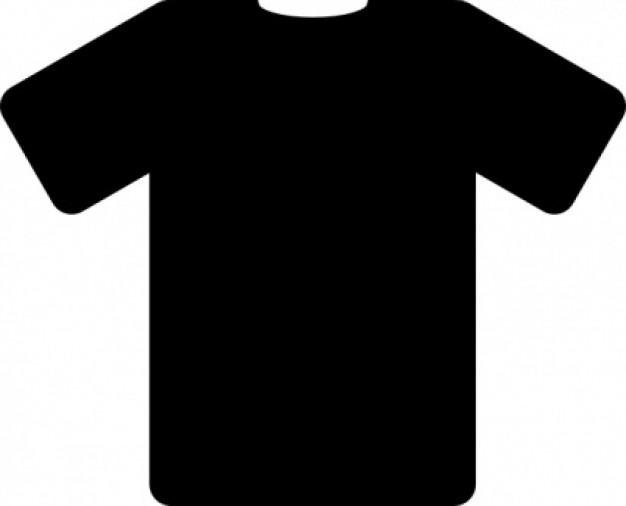 black t shirt clip art download free vector clipart. Black Bedroom Furniture Sets. Home Design Ideas