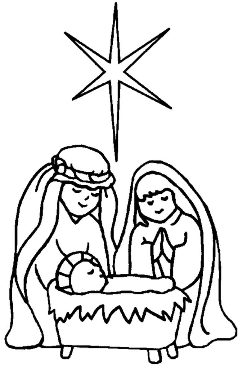 manger coloring pages to print - manger coloring page clipart best