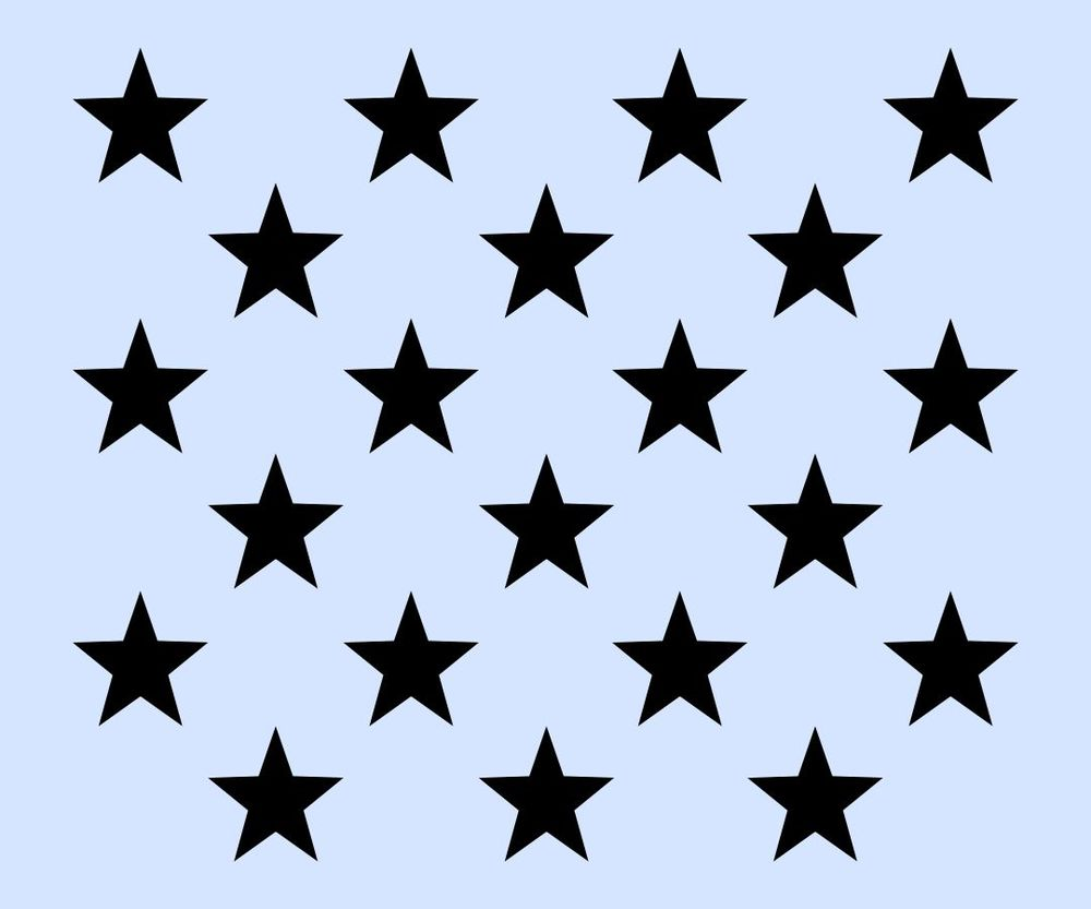 Stars Stencils - ClipArt Best