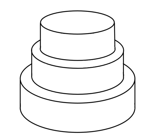 Cake Outline - ClipArt Best