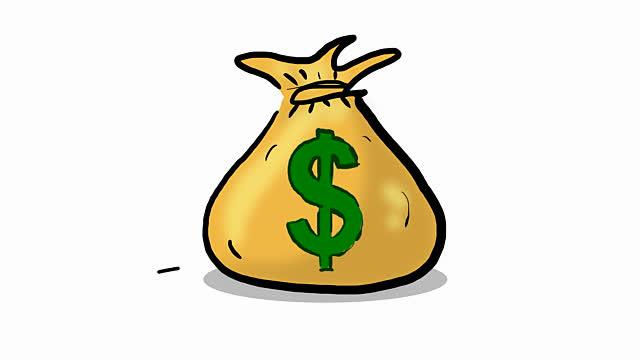free animated clipart of money - photo #45