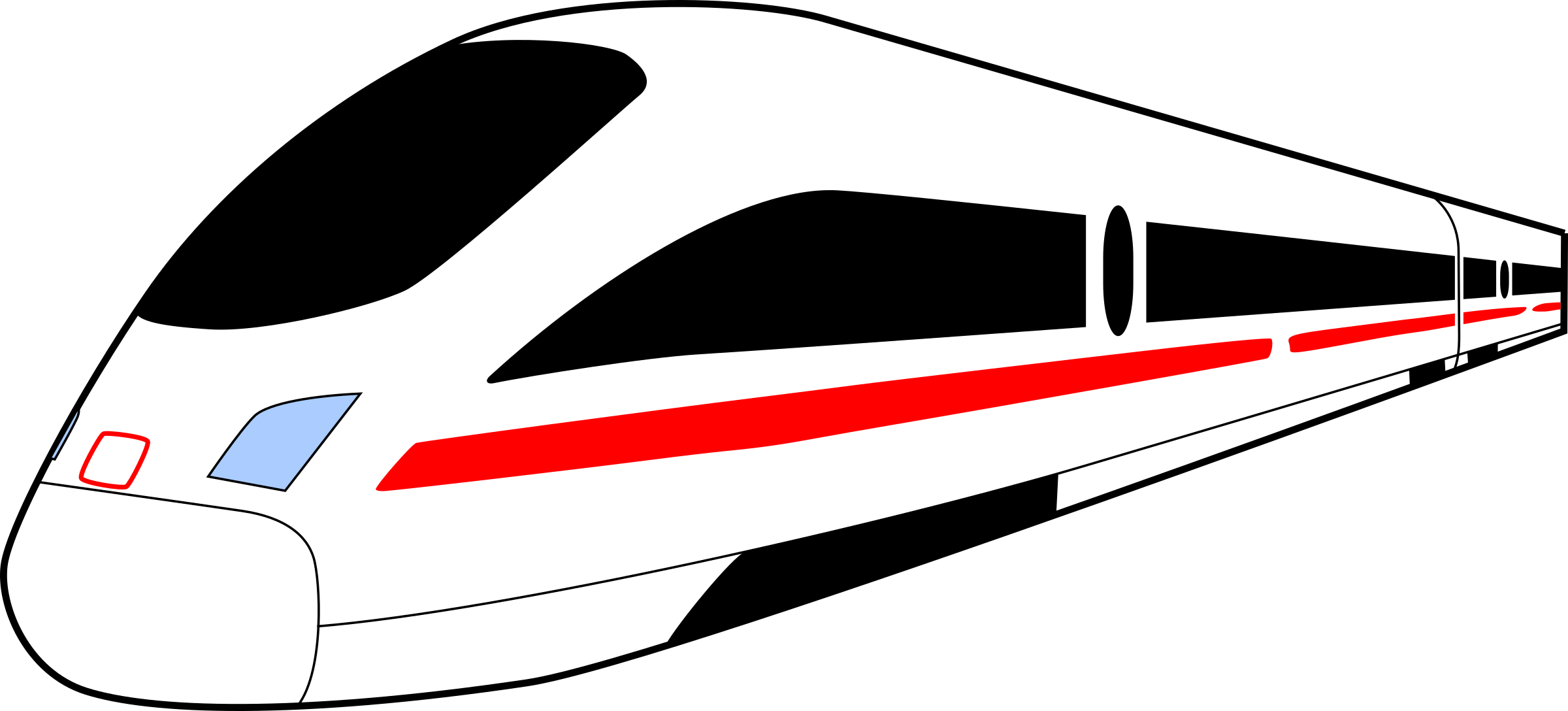 Ice train clipart