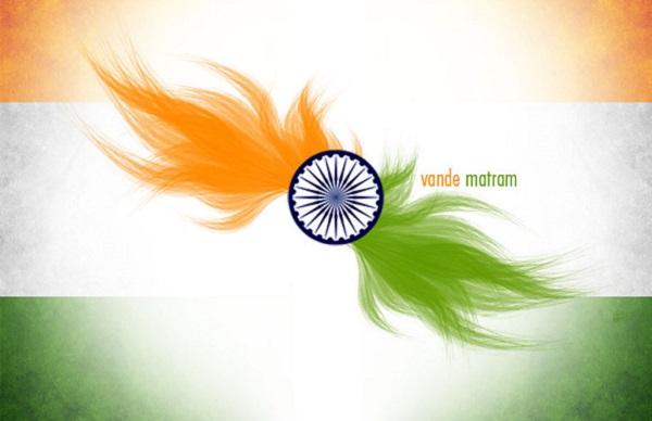Indian Flag With Different Views: Ashok Chakara India Logos