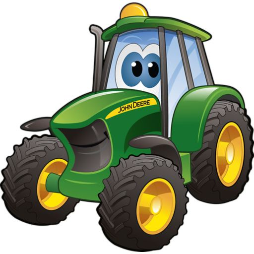 Animated John Deere Tractors And Wagon : Cartoon tractor clipart best