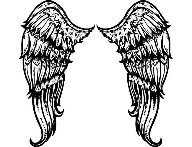 Large Tribal Angel Win...