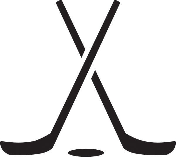 Hockey Sticks Crossed - ClipArt Best - ClipArt Best