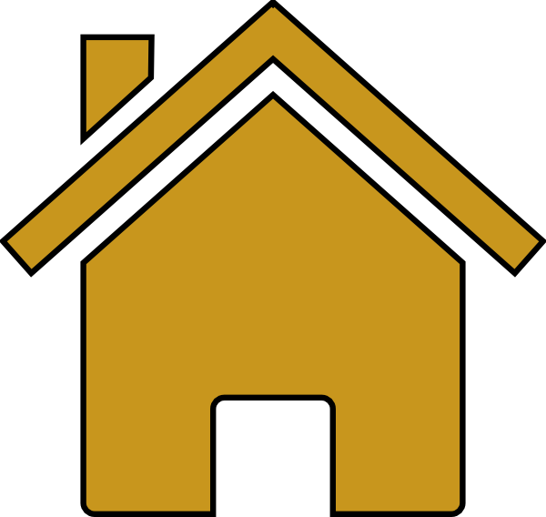 House Outline Clip Art Png House clipart outline