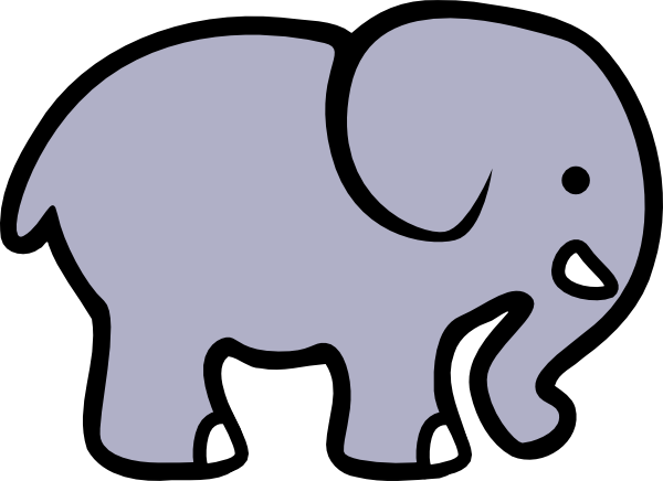 clipart of elephant ears - photo #13