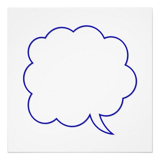Empty Speech Bubble - ClipArt Best