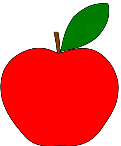 Drawing Of Apple Fruit
