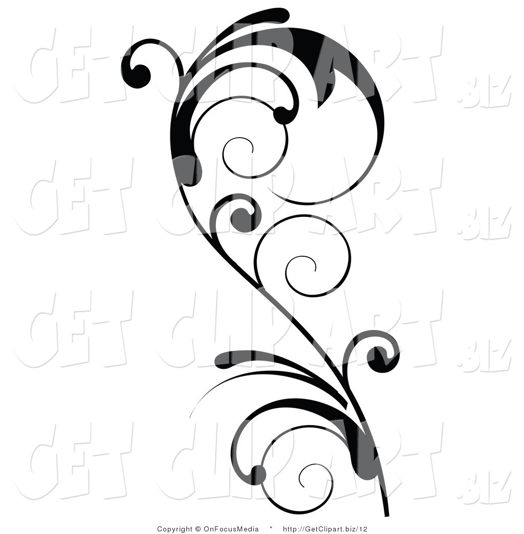 Line Drawing Vines : Vine line drawing clipart best
