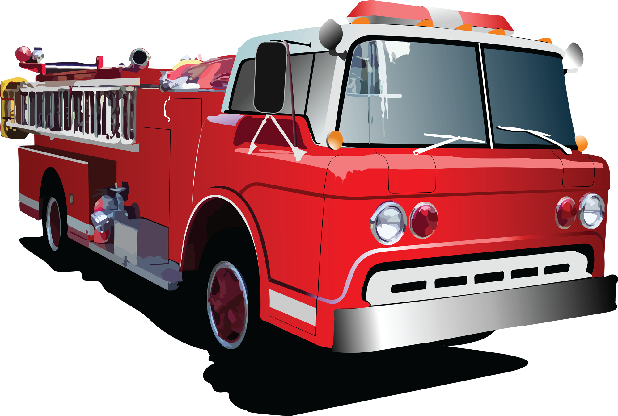 free clipart images fire trucks - photo #50