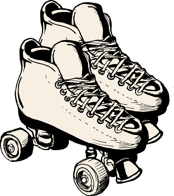 quad skate clip art - photo #1