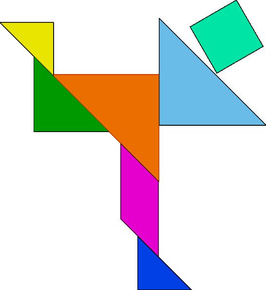 Tangram Puzzle Game clip art - vector clip art online, royalty ...: www.clipartbest.com/tangram-house
