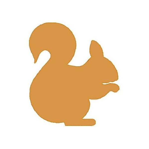 Simple Silhouette Squirrel - NobbieNeezKids - ClipArt Best ...