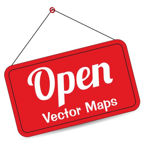 open vector maps openvectormaps twitter clipart