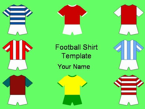 Football Shirt Clipart Football Shirts Template