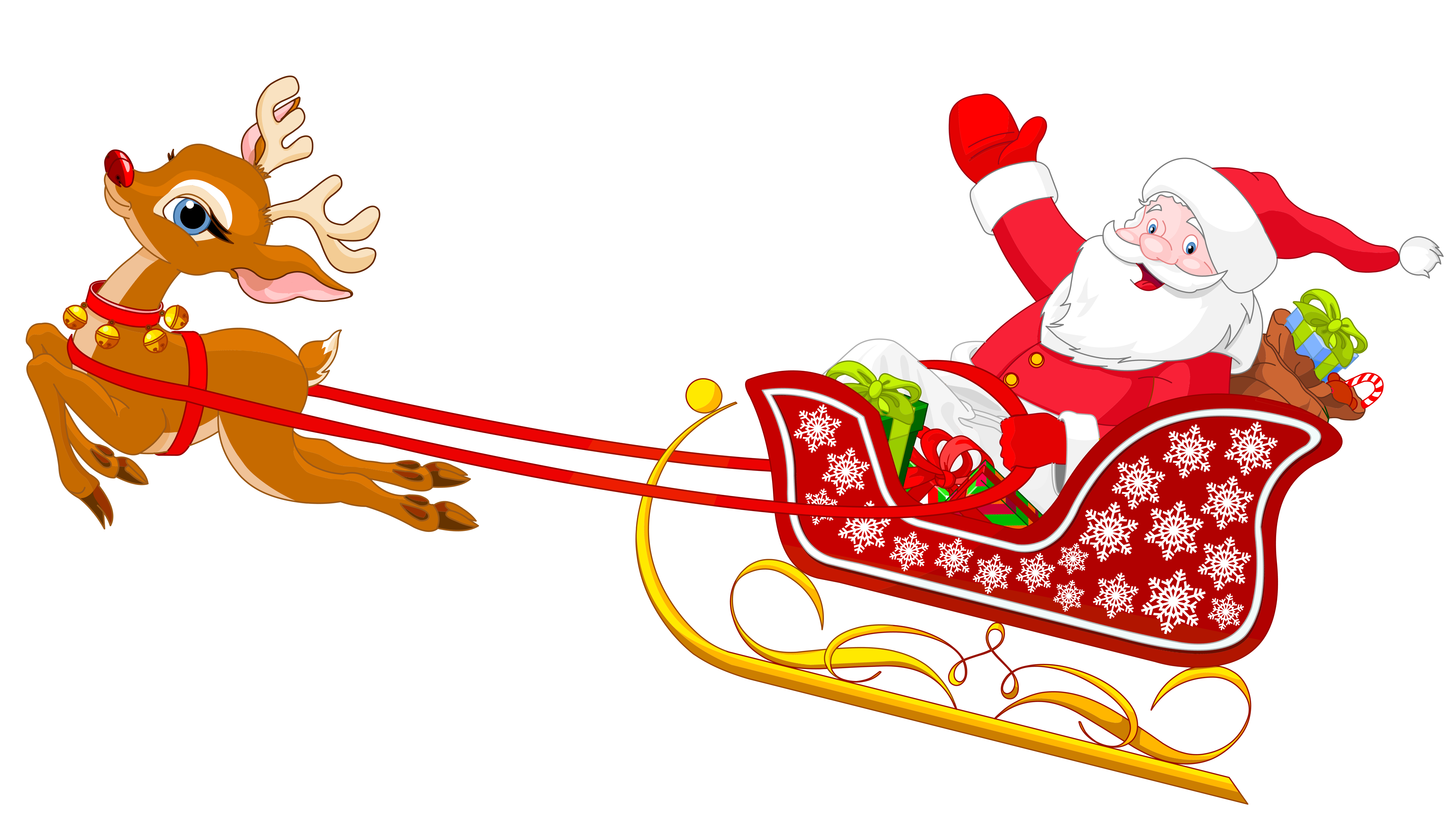 Christmas Sleigh Images Clipart Best