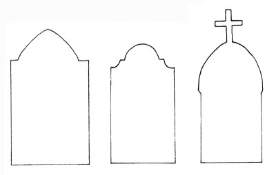 Accomplished image with regard to tombstone template printable