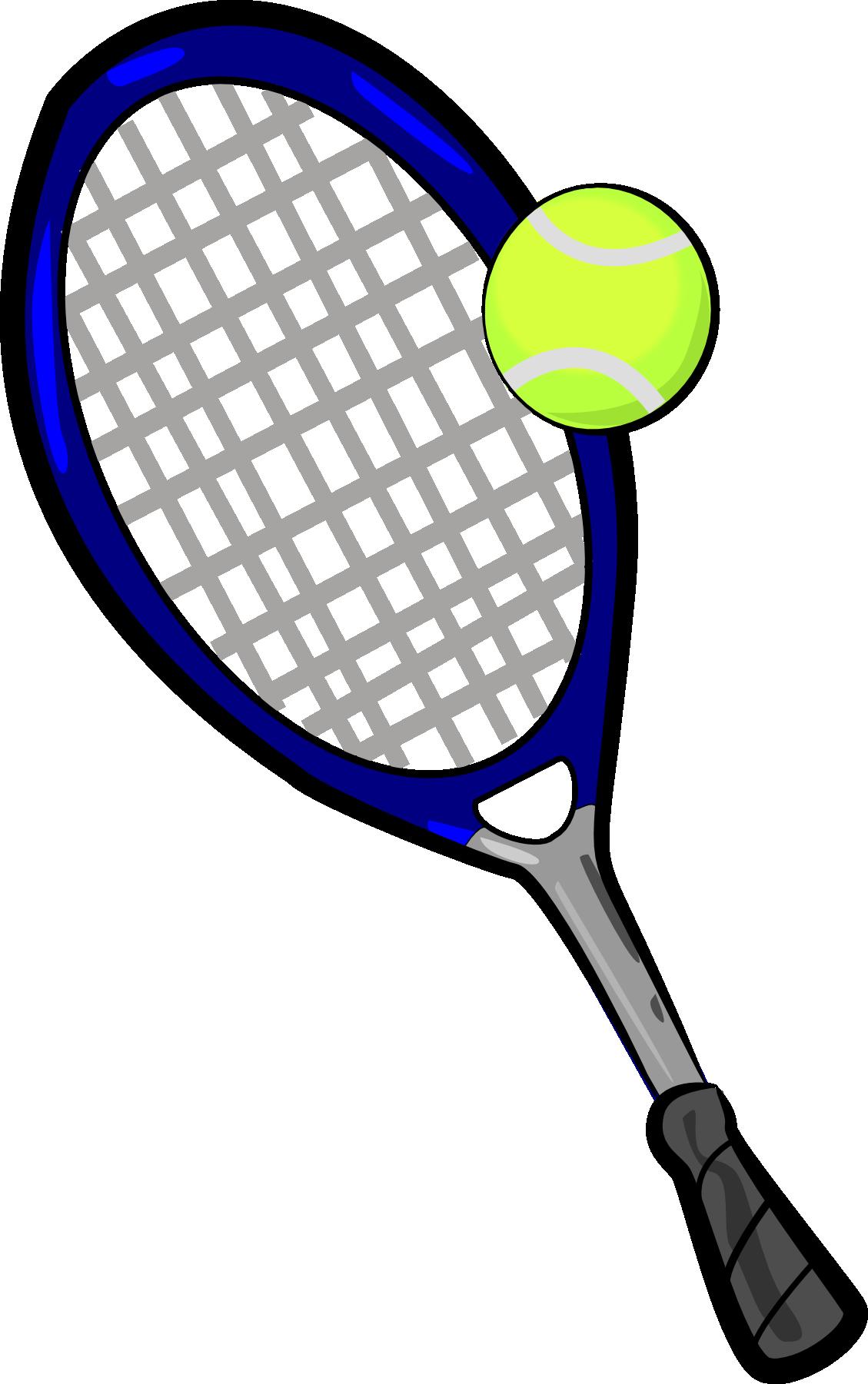 Pink Cartoon Tennis Racket - ClipArt Best