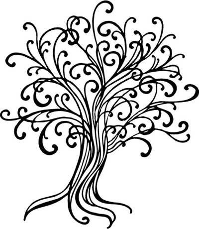 Line Draw Tree - Beautiful Wall Decals - ClipArt Best ...