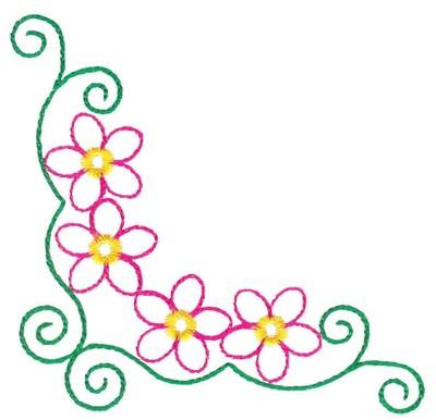 Aninimal Book: Flower Corner Borders - ClipArt Best