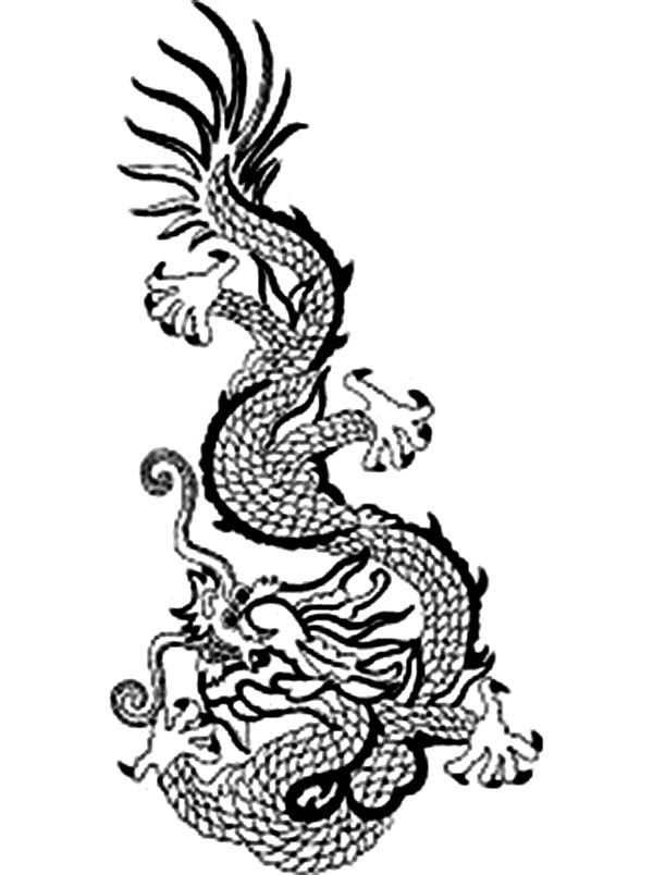 Ancient Chinese Art Coloring Pages