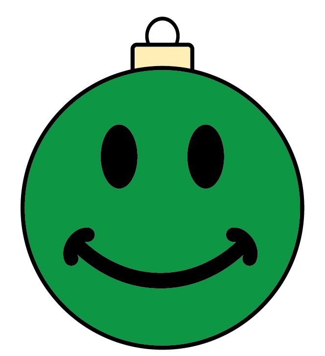 clip art christmas smiley face - photo #50