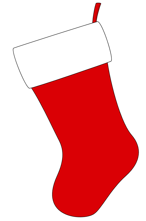 Displaying (20) Gallery Images For Christmas Stocking Clip Art...