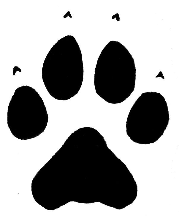 paw print wolf . Free cliparts that you can download to you computer ...